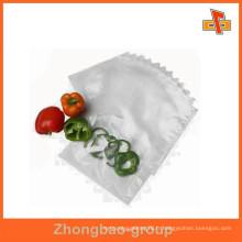 Sac de nylon transparent en sachet de qualité alimentaire pour vagetables / emballage de fruits