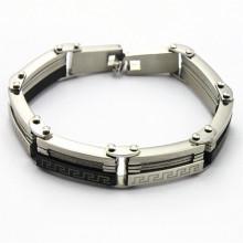 Bracelet en acier inoxydable en or, nouveaux articles sur le marché pour les hommes de mode