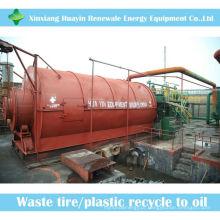 tyer fazendo sistema de óleo de carbono machin