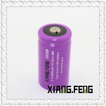 3.7V Xiangfeng 18350 800mAh 10.5A Imr Rechargeable Lithium Battery 18350 Battery