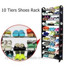10 Tiers Shoes Ensemble de chaussures à bascule empilable