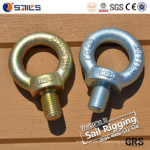 M33 Metric Thread DIN580 Metal Eye Bolts