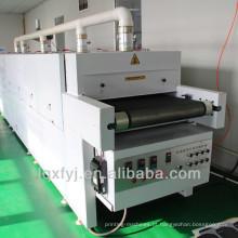 grande secador infravermelho do vácuo da correia transportadora para a venda / secador transportador da impressão da tela / secador do túnel