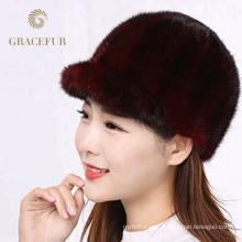 Sombreros de piel rusos asegurados calidad del estilo del invierno para las señoras
