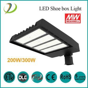 200W Led Shoebox Outdoor Light Fixtures