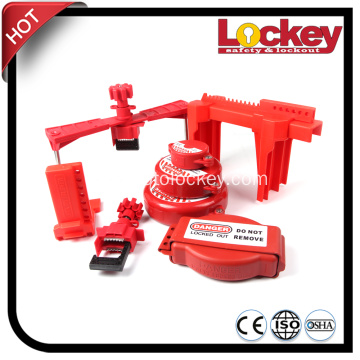 Universal Gate Valve Rod Handle Safety Lockout