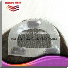 Human Hair Clip In Bangs Made in China