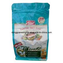 Side Gusset Seasoning Bag with Zipper/Flat Bottom Bag