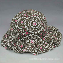 Floral hat cap