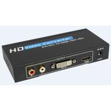 Conversor de DVI + Audio a HDMI
