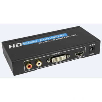 DVI+Audio to HDMI Converter