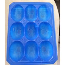 Bandeja plástica azul da embalagem da bolha de 29X38.5cm PP para a manga
