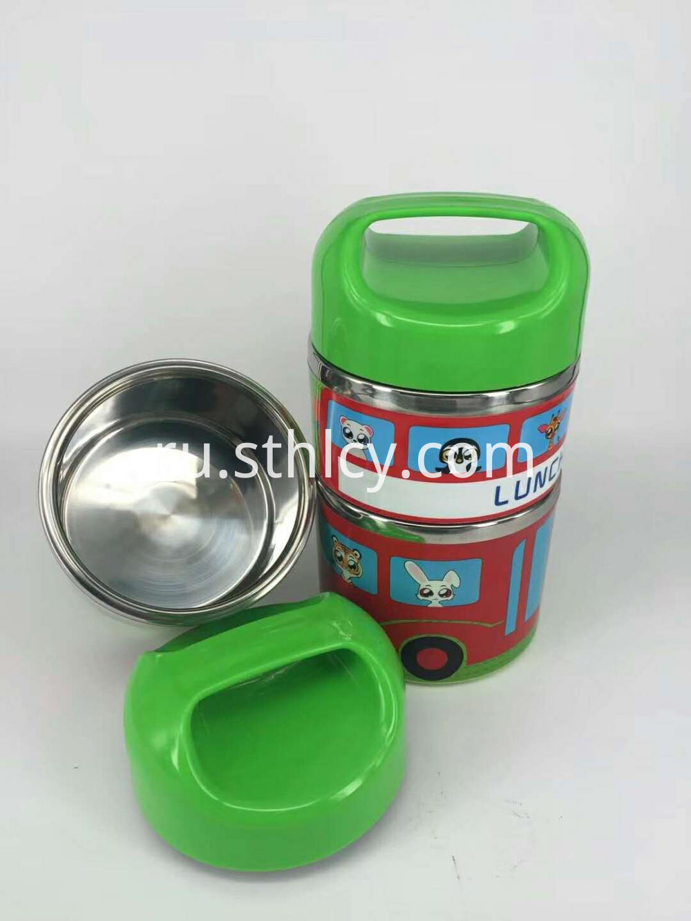Food Storage Container With Dividers