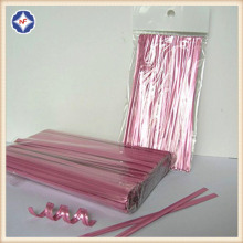 4'' Metallic Twist Tie For Bread Bag