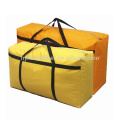 Водонепроницаемая ткань многоразовый мешок tote Оксфорда с застежкой-молнией