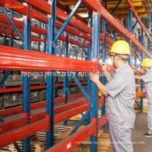bastidor de paletas de metal pesado y caliente para el almacén