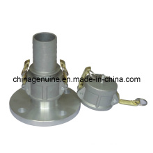 Zcheng High Quality Flange Joint Quick Coupling