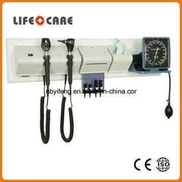 Unité murale de diagnostic médical avec Ophtalmoscope et Otoscope