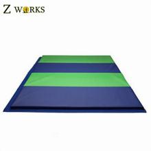 4 exercices se pliants de gymnastique de pliage des tapis de mousse d'arts martiaux se pliants