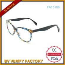 Caliente venta de moda acetato Eyewear, gafas de diseñador (FA15106)