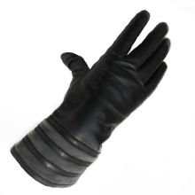 custom made long leather gloves motorcycle leather gloves