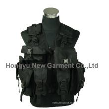 Militaire / Police Veste protectrice tactique de sécurité de protection extérieure (HY-V046)