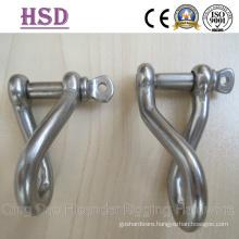 Ss316 Twisted Shackle, Nickel 10%-12%, Ss304 Shckle Nickel 8%-10%