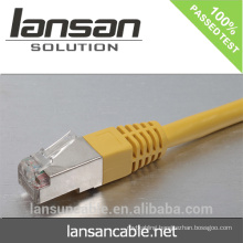 UTP, FTP, SFTP rj45 cat 5 6 lan ethernet(CE/ROHS/ISO/UL/CCC certificates)