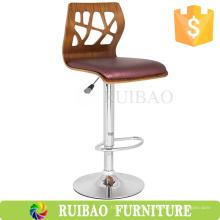 2016 Tall Bent silla de madera de bar de los modelos comerciales de taburetes de madera