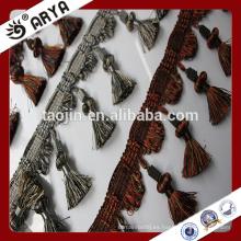 Corchete de la franja decorativa de la borla de la franja de las existencias para la cortina