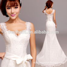 Sexy deep V cheap mermaid wedding dresses 2016 china