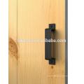 Classical matt antique room exterior plate wood door handle