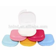 Prothesen-Retainer-Boxen zahnärztliche Versorgung Mischfarben