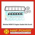 ويتشاي WD615 مجموعات طوقا المحرك يوروي