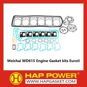 Weichai WD615 kits de juntas do motor EuroII
