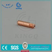 Ponta de contato de soldagem Kingq 403-23 para tocha de soldagem MIG Tregaskiss