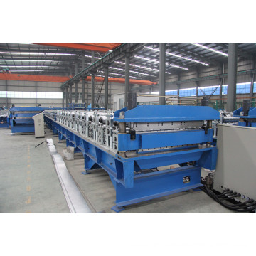 Double layer sheet rolling machine design