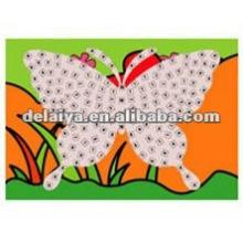 Бабочка липкие мозаики-DIY мозаика искусство