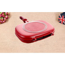28cm diameter aluminium fry pan double sided
