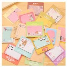 Promotional Lovely Sticky Notes, Cartoon Printed Memo Pads for Christmas