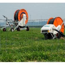 Projetos de irrigação de tubulação PE com menor investimento com Boom