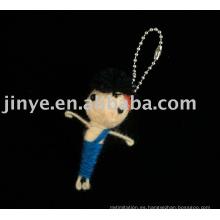 Muñeca del vudú de la cuerda hecha a mano del regalo de la promoción