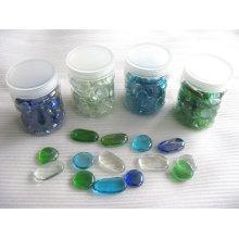 Декоративные стеклянные формы, стеклянные самородки, мозаика из стеклянной гальки