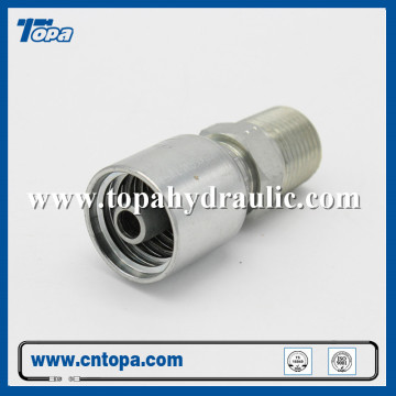 caterpillar hydraulic steel hose pipe weldable fittings