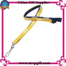 Llavero tubular para el cliente con logotipo de impresión