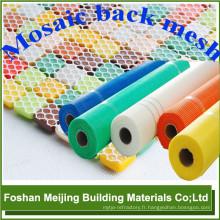 tige blanche de fibre de verre forte de couleur pour le trou carré de 4x4mm