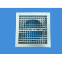 Difusor de aire de aluminio con caja Plenum para manguera de aire