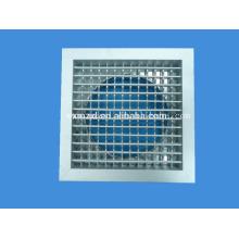 Difusor de ar de alumínio com caixa Plenum para mangueira de ar