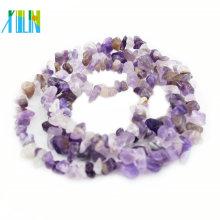Preço de atacado Natural Ametista Stone Beads Gemstone Chips