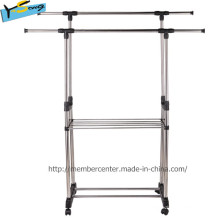 Magic Heavy Duty Two Pipe Protable Airer para la ropa